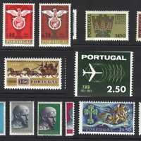 Portugal Stamps 1963 issues (complete except Europa CEPT) MNH OG