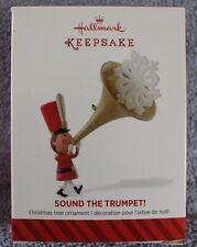 "2014 LIMITED EDITION  ""SOUND THE TRUMPET!"" HALLMARK KEEPSAKE ORNAMENT NIB"