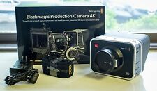 BARELY USED Blackmagic Design Production Camera 4K (EF Mount) Camcorder -  Black