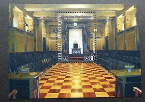 *FREE SHIP Belgium The Freemasonry In Belgium 2008 (ms) MNH