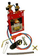 Oxyturbo turbo set 200 portable gas welding & brazing kit