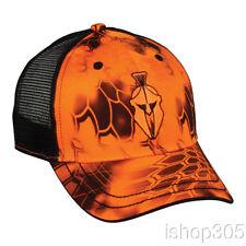 Kryptek Inferno Black Mesh Back Cap Hunting Hat Trucker Camo Hat Baseball  Cap f9138d140d21