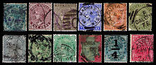 1882-99 INDIA EMPIRE ISSUES - WMK 39 - USED - F/VF & BETTER - CV$15.50(ESP#1607)