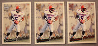 DONOVAN McNABB (3) 1999 Pacific Paramount SILVER GOLD & COPPER Rookie  Lot  #182