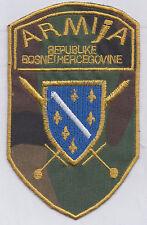 BOSNIA ARMY -  ARMIJA REPUBLIKE BOSNE I HERCEGOVINE - camo uniform patch
