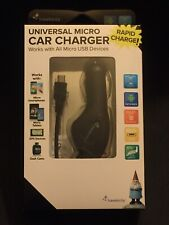 Travelocity Black Universal Micro Car Charger