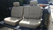1998-07 TOYOTA LAND CRUISER  LX470 3rd Third Row Rear Seats Tan Leather