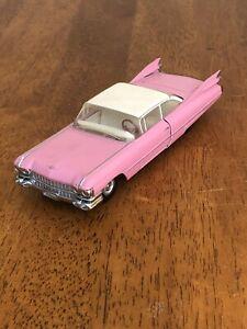 Matchbox Dinky 1959 Cadillac Coupe De Ville 1:43 Pink Die Cast Car