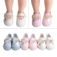 Cute Girl Doll PU Leather Shoes for 16inch Doll Shoes Toy Gift Color Random