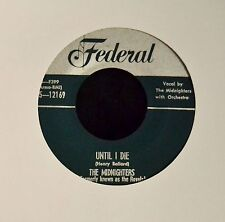 CLEAN EX ORIGINAL The Midnighters Federal 12169 Work With Me Annie
