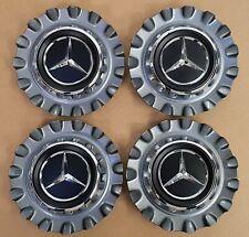 4 x Mercedes Nabendeckel Nabenkappen Grau für AMG GT 4türer X290 A0004003200