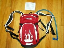 NEW no tags Camelbak Mini Mule Hydration Backpack Red Chili Flame 1.5 L Bladder