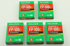[NEW] 09/2009 5Packs FUJIFILM FUJI FP-100C Instant Color Film Expired From JAPAN