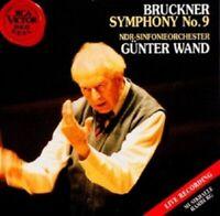 GÜNTER WAND/NDR-SINFONIEORCHESTER - A. BRUCKNER-SINFONIE 9; CD 3 TRACKS NEU