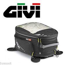 Sacoche de réservoir GIVI EA102B 25l carte housse pluie extensible sac a dos