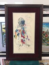 """Leroy Neiman """" Harlequin """" Signed & Numbered Rare 1972 Lithograph / Serigraph"""