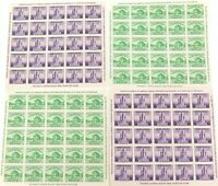 ".1933 CHICAGO USA 4 x IMPERF. MINT HIGH GRADE MINI SHEETS. ""CENTURY of PROGRESS"""