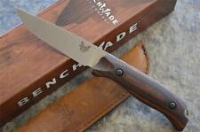 Benchmade HUNT Hunting Fixed Blade Knife S30V Blade & Dymondwood Handles 15007-2