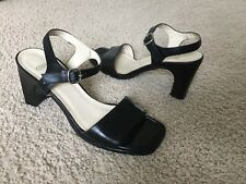 WOMENS COACH SLINGBACK ANKLE STRAP SANDAL SHOES 8B