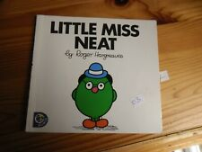 #03 Neat - Little Miss Paperback Book By Roger Hargreaves 5191