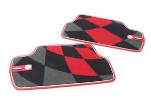 Carsio Alfombrillas de Piso para Coche Mini Countryman 2010 a 2016 R60 con Logotipo