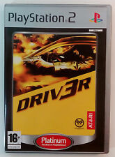 DRIVER PS2 PLAYSTATION 2 TWO EUROPEAN PAL BRAND NEW & UNUSED