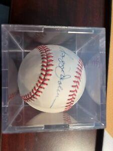 Reggie Jackson Signed Autographed OAL Rawlings Baseball HOF 1993 - Clear Case