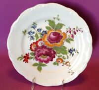 Colorful Bavarian Charger - Gloria Handwork By Bayreuth - West Germany