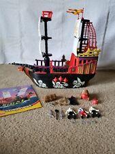 Imaginext Pirate Raider Ship Phantom Glow in The Dark VERY Very Rare Set