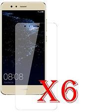 6 PZ PELLICOLA PROTEZIONE PER Huawei P10 Lite PELLICOLE PROTEGGI SCHERMO LCD