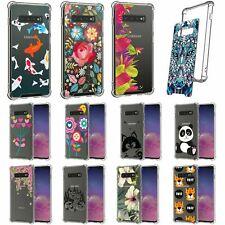 For Samsung Galaxy S10 Plus / S10+ G975 Flexible TPU Case Shock Bumper Clear