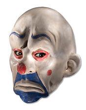 Accesorio Disfraz Caballero Oscuro, Máscara de 3/4 para hombre Payaso Joker