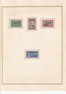 Omnibus Issue 1939-1947 Royal Visit - 30 stamps - Mounted mint
