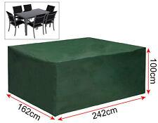 Gartenmöbel Schutzhülle Abdeckhaube für Sitzgruppe Plane 242x162x100 cm GZ1194gn