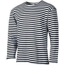 Russisches Marine Shirt, Top oder Pullover XS-3XL, blau-wei�Ÿ gestreift Matrosen