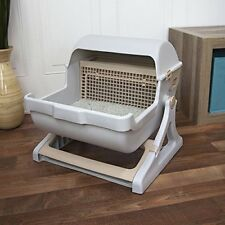 Self Cleaning Cat Litter Box Automatic Pan Lid Cover Multiple Kit Luxury Toilet