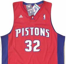 New ListingDETROIT PISTONS  32 HAMILTON NBA Basketball adidas Swingman  Jersey MEN S XL NWT e0993b409