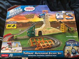 Thomas & Friends Trackmaster Avalanche Escape Complete With Train & Instructions