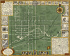 1929+Oberlin+College+Ohio+Campus+Map+History+11%22x14%22+Art+Poster+Print+Wall+Decor