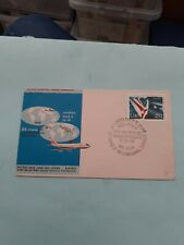 COVER FDC AIR INDIA 25 YEARS INTERNATIONAL SERVICES 8 JUNE 1973
