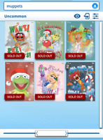 Topps Disney Collect - The Muppets - Christmas collection set no award DIGITAL