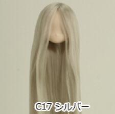 Obitsu Doll 11cm hair implantation head for Whity body (11HD-D01WC17) Silver