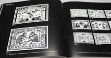 Matchbox Label Paradigm book from Japan Japanes match box trademark design#0985