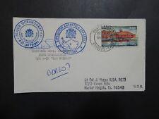 Spain 1989 Las Palmas Base Antarctica Cover / Signed / Cacheted - Z9018