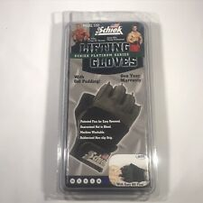 SCHIEK Sports 530 Lifting Gloves Wrist Wraps Gel Padding Black XXL