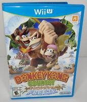 Donkey Kong Country: Tropical Freeze Nintendo Wii U - Complete in Case