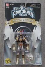 NEW Bandai Mighty Morphin Power Rangers White Ranger Movie Edition