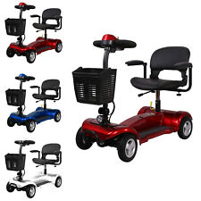 Portable Mobility Scooter 4mph Class 2 Travel Pavement Fits in Most Car Boots 4