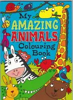 Squiggle Childrens Colouring Book Girls or Boys 72 Pages 11 Fun Designs