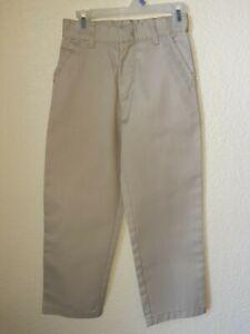 NWOT Genuine School Uniform Boys Tan Pants Size 7